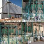 4T/H wheat flour milling machine with Satake experience and Chinese process technology-