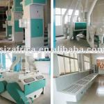 10-100t/d complete wheat flour processing equipment-