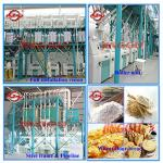 50-100tons Wheat flour mill equipment price-