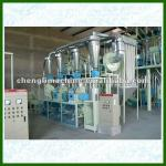 10t/d compact flour mill machinery-