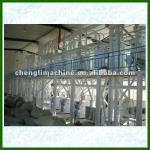100t/24h maize/corn meal processing line-