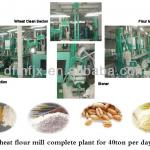 grain milling equipment 40tpd wheat flour-
