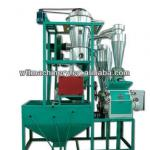 350-550kg/h high quality maize milling machine-