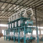 complete maize flour process line-