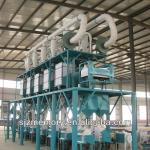 60 T/D maize flour mill equipment-