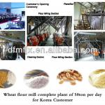 flour mill machine complete plant-