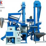 Combined rice mill with stone remover auto rice mill-