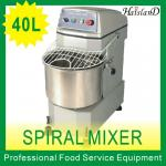 40L/spiral mixer/haisland/with cover/1 speed/CE approval/bakery equipment-