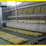 cutting and make wave machine of instant noodle production line/quick noodle processing plant/food machine-