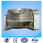 Industrial Tilting Cooking Kettle For Sauce ( steam jacketed )-