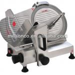 Stainless steel industrial meat slicer
