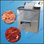 Compact structure meat strip cutter / meat shredding machine-