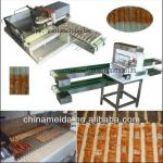 Home Restaurant Use Automatic Kebab BBQ automatic meat skewer machine For Chicken,Beaf, Mutton,Pork Low Price