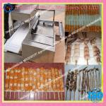 Automatic kebab skewer machine/kebab wearing machine/automatic wear kebab equipment//008613676951397