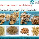 vegetarian texture soy protein production line-
