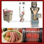 Small scale sausage making plant-