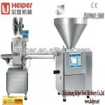Vacuum sausage filling machine and clipping machine-