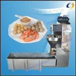 Stainless steel commercial stuffed meat ball making machine from China