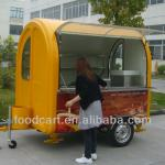Electric tricycle food cart vending mobile food van with wheels CE&ISO9001Approval-