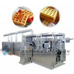 Full- automatic gas waffle machine-