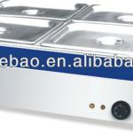 Stainless steel food warmer bain marie-