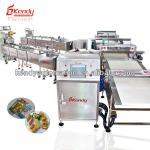Automatic foodstuff feeding conveyor and packaging system-