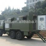special vehicle for outdoor cooking-