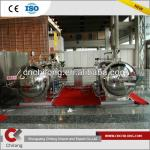 Full automatic water bath type double kettles parallel connection sterilization kettle-