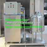 milk pasteurizer, juice pasteurizer, small pasteurizer, HTST pasteurizer tank and whole line. SUS304 material. Best price for u-