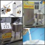 140 Fresh Milk Small Paseurization Machine For Pasteruized Milk-