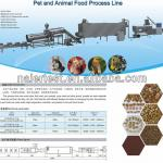 Double Screw PET FOOD PROCESSING LINE-