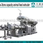 1.5-3tons pet food and animal food pellet fish food extruder machine-