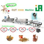 small stainless steel twin-screw extruded dry animal feed machine/equipment/line-