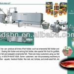 Best Quality Automatic Tilapia Fish Food Machines/Extruder/Equipment-