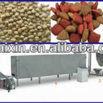 small extruded fish feed pellet production line-