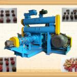 2013 Best seller wide output range floating fish feed making machine-