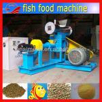 complete floating and sinking fish feed processing line/pet fish feed machine-