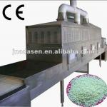 Industrial microwave spices sterilizer--chicken powder sterilizer-