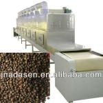 Continuous type microwave black pepper drying/sterilizing machine-