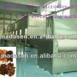 Continuous type microwave spice drying/sterilizing machine-