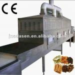 tunnel continuous conveyor belt type industrial microwave oven for drying and sterilizing for spice