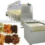 Microwave equipment for drying spice-
