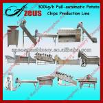 2013 hot sell 300kg/h automatic potato chips production line-