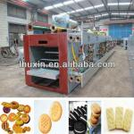 automatic soft and hard biscuit machine-