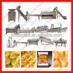 stainless steel semi and full automatic 30-300kg/h potato chips production line-