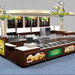 ISO approved fast food kiosk carts design and manufacturer-