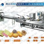 3+2 biscuit cracker cookies sandwiching creaming machine RCJ-A360-
