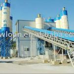 Hot selling HZS90 Concrete batching Plant --90m3/hour-