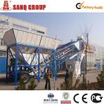 CE certificated Mobile Concrete Batching Plant, Batching plant, Concrete mixing plant with European quality at Asian price-