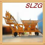 YHZD(s) mobile ready mixed concrete mixing plant-